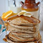 Homemade Instant Pancake Mix for the Fluffiest Pancakes Ever + A Virtual Baby Shower!