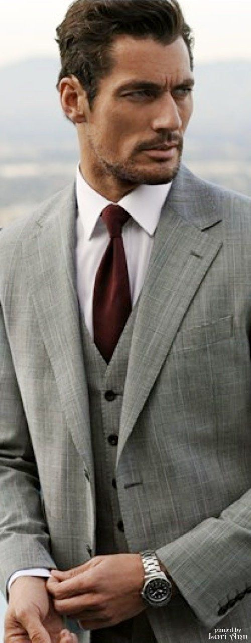 David Gandy in M&S's Collection Menswear