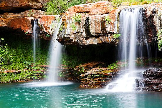 It really is that colour green too another fav place Fern Pool Karijini National Park WA