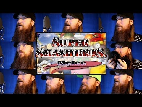 Super Smash Bros. Melee - Menu 1 Acapella - #SSBM I CANNOT BELIEVE THAT SOMEONE SPENT THEIR LIFE DOING THIS I LOVE IT SO MUCH