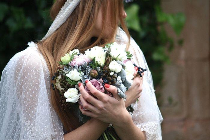 El sueño de una novia, traje helena mareque, flores de Sally para the Workshop. Querida Valentina