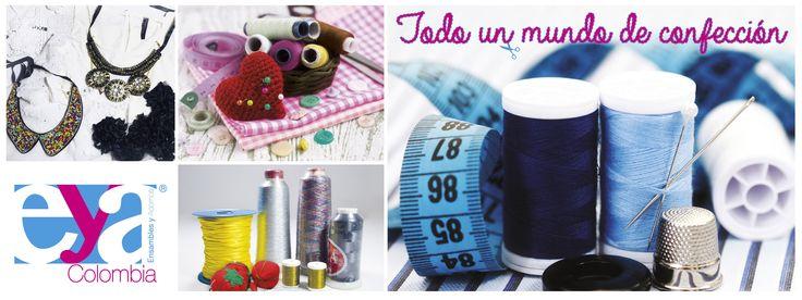 #Confeccion #EnsamblesyAdornos #Colombia #Manualidades #Accesorios #EYAColombia #Insumos