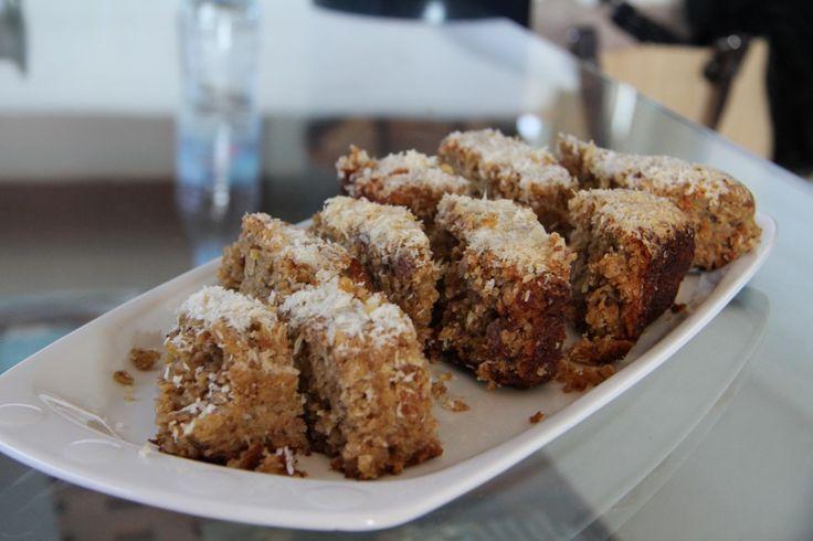 Kokosowe ciasto z batatów