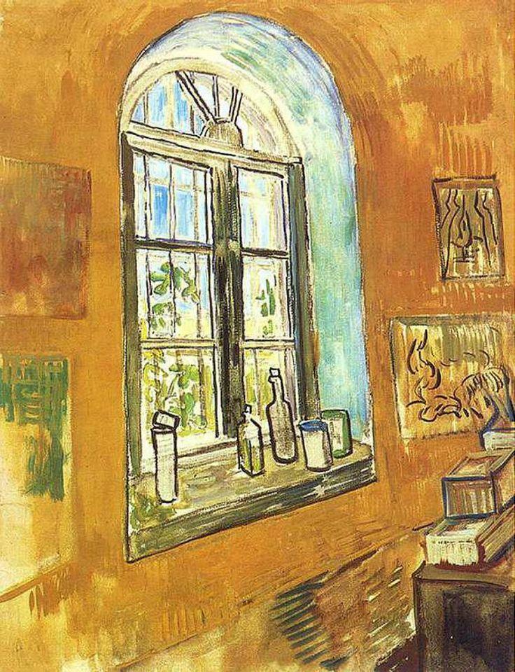 Vincent Van Gogh (Dutch, 18531890), Window in Van Gogh's