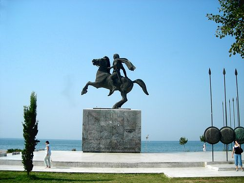 TRAVEL'IN GREECE I Alexander the Great, Thessaloniki, Greece, #travelingreece