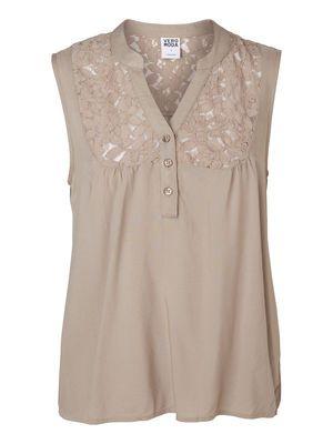 Lace Detailed Sleeveless blouse - Vero Moda