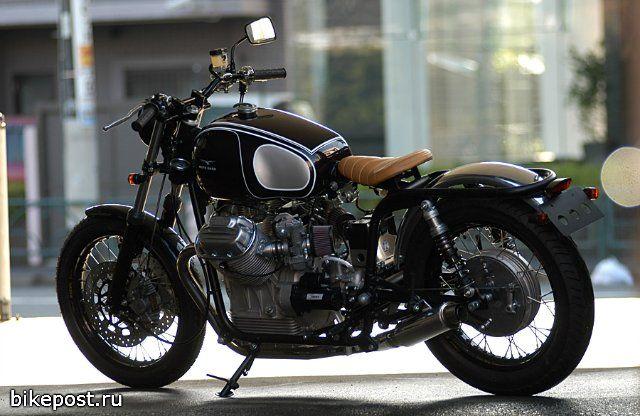 Мотоцикл Ritmo Sereno Moto Guzzi V7