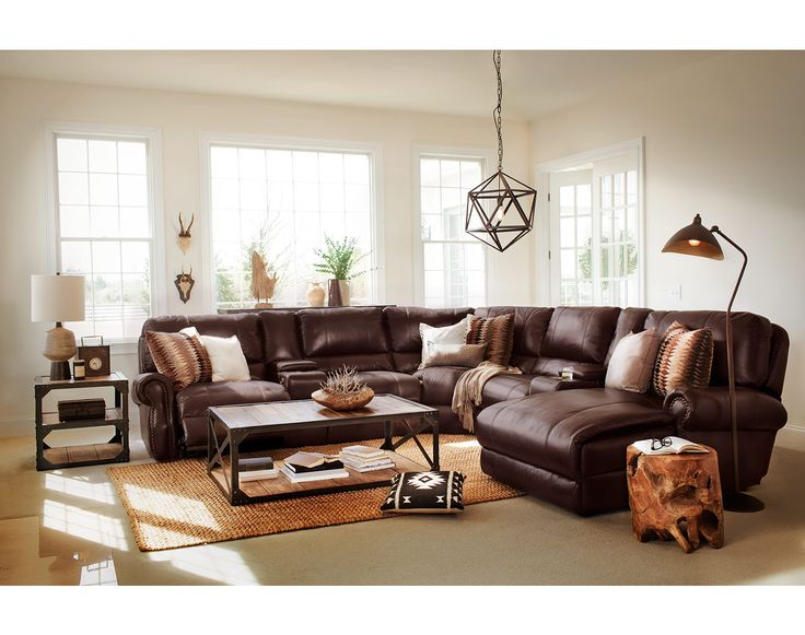 The Princeton Collection | Value City Furniture. Living Room ... - 187 Best Images About Industrial City On Pinterest Reclining