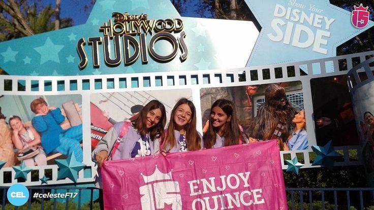 El #celesteF17 esta en #DisneyHollywoodStudios!