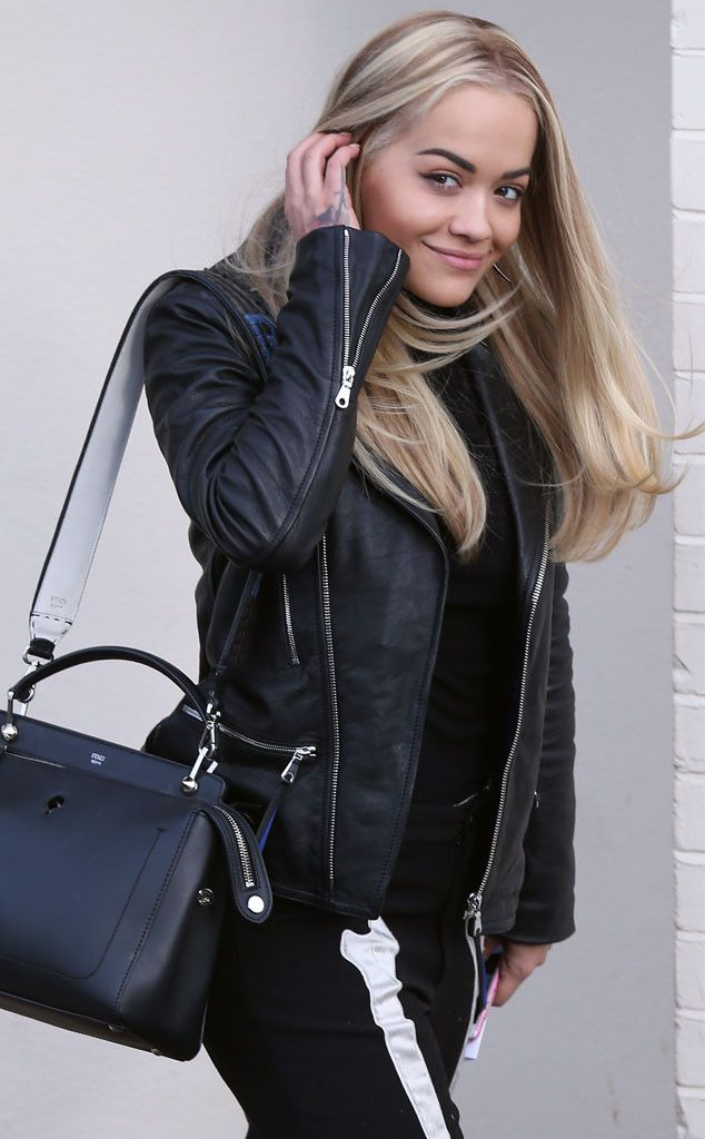 Rita Ora from The Big Picture: Today's Hot Pics The singer arrives at Fountain Studios in London for X Factor rehearsals.