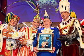 Non-Stopp-Galasitzung| Die Blauen Funken - Das sympathische Traditionskorps - #karneval #dreigestirn