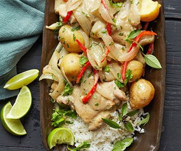 Green Curry Chicken and Potatoes - FamilyCircle.com