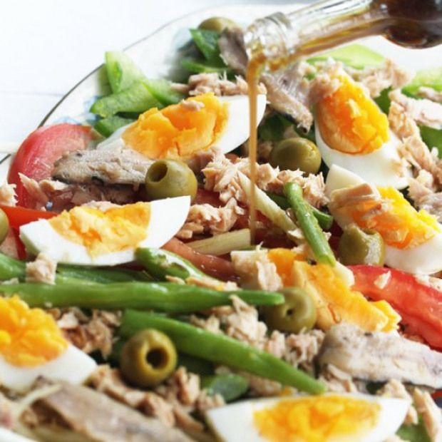 Nicoise Style Salad Nicoise Style Salad Perfect Rustic Summer