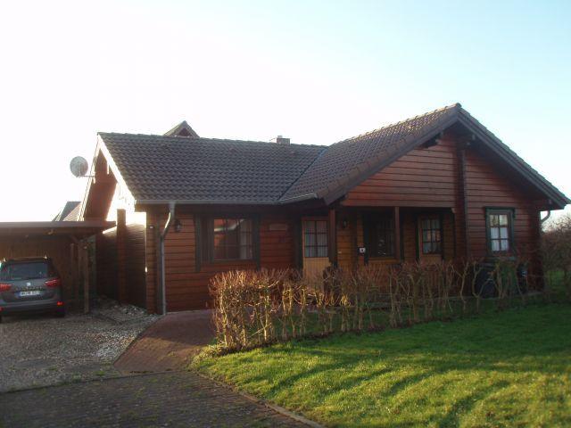 Ferienhaus Blockhaus Ostseenah Hundestrand Garten Zaun WLAN