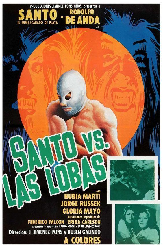 Santo vs. las lobas (1976) de Rubén Galindo, Jaime Jiménez Pons - tt0208423