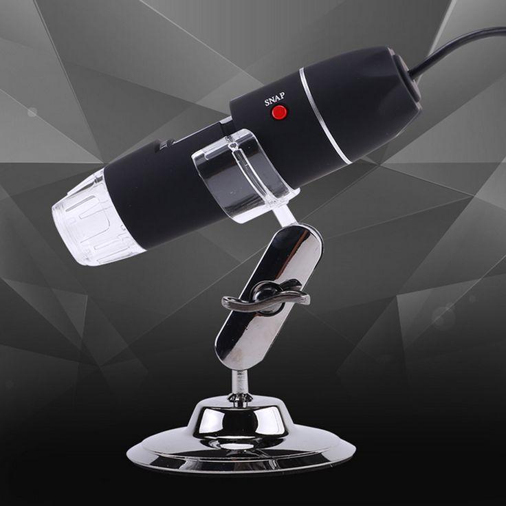 Electron Stereomicroscope 8 Lamp USB Digital Microscope Biological //Price: $24.48 & FREE Shipping //     #hashtag4