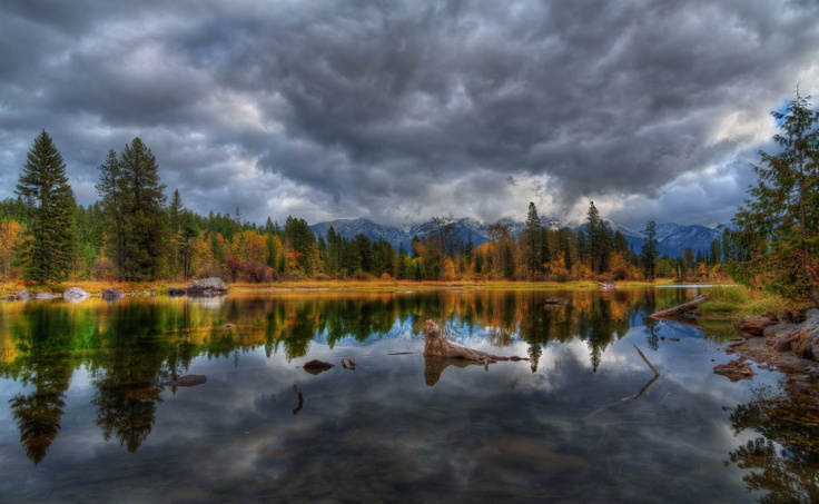 Swan River, Bigfork, Montana