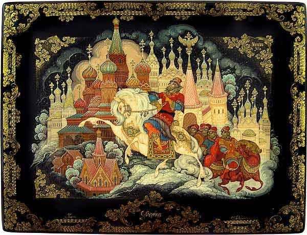 Sergey Deviatkin: Moscow, XVI century