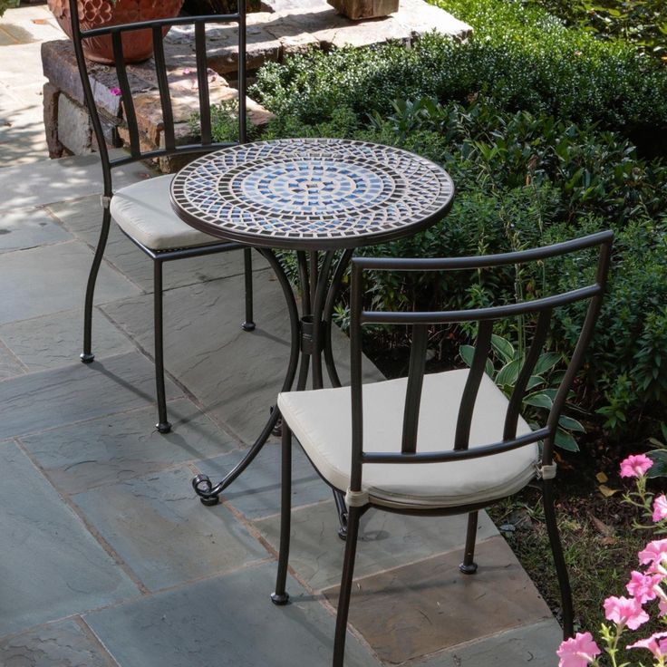 Mosaic Outdoor Table Set