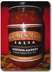 welcome to Home made salsa