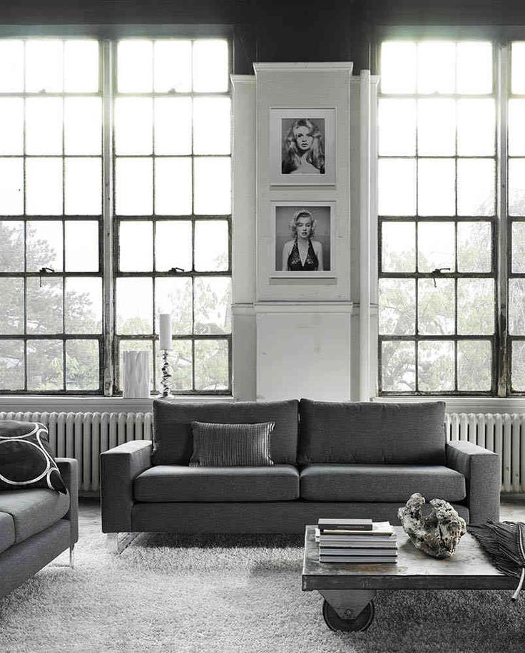 G Romano Furniture. Richard Avedon Prints. Greys. Loft Living.