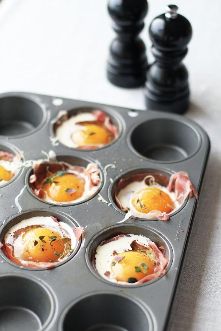 Kun yhdistetään ilmakuivattu kinkku ja kananmunat. Silloin ollaan hyvän äärellä.