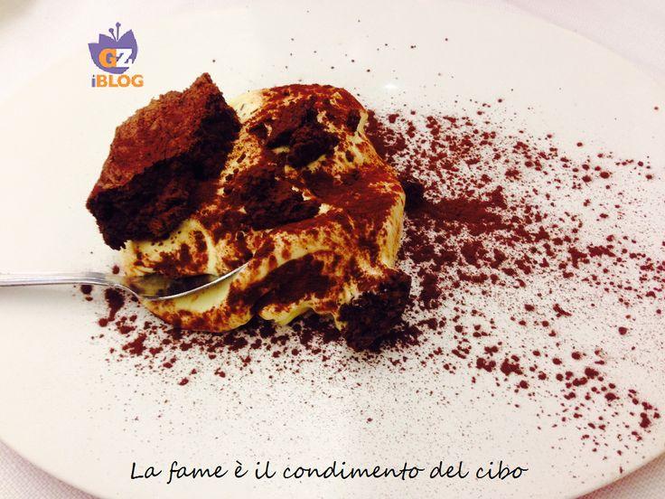 Crema di mascarpone con Torta nera al cioccolato #BlogGZ #dolce #dessert