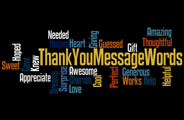 When you need to write in thank you cards, use this word cloud to get your ideas going. Also the article provides some excellent ideas too. #thankyou