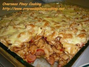 Pinoy Baked Macaroni