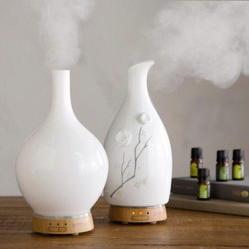 Aromatherapy Vase Diffusers & Therapeutic Essential Oils | VivaTerra