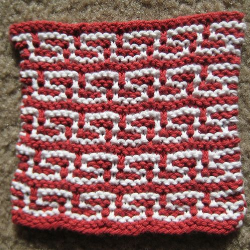 77 best images about Knitting: Mosaic and Slipped Stitches on Pinterest Kni...