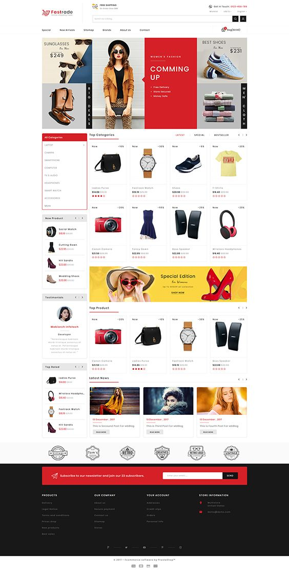 Fastrade - Online Shopping Trade  Template is a good choice for selling #Fashion,#Electronics, #Art, #webibazaar #webiarch #Bicycle, #Furniture, #kidswear #Cake,#Furniture, #Flower,#Food, #appliances, #bag, #ceramic, #cosmetic, #fashion, #flower, #coffee #home, #jewellery, #organic, #pet-store, #power-tool, #resturant, #shoes, #watch,#Themeforest,#opencart,#prestashop https://goo.gl/AUjK2m