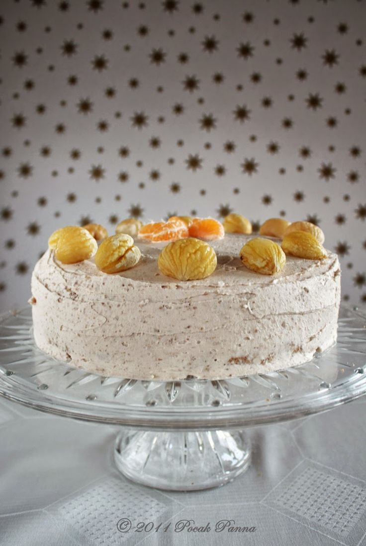 Pocak Panna paleo konyhája: Marcipános-mandarinos gesztenye torta #glutenfree #sugarfree #paleo