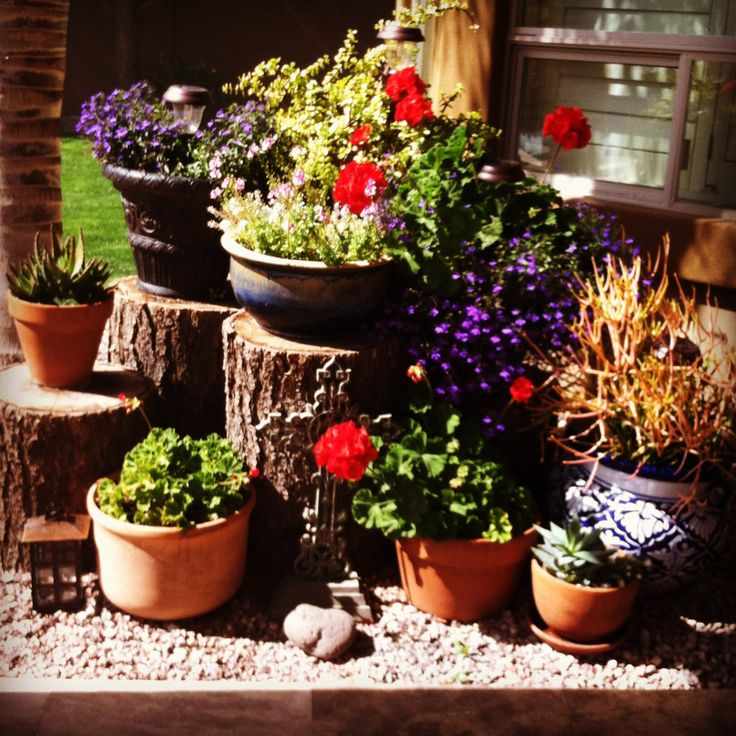 78 images about flower pot arrangements on pinterest gardens yard art and glass flowers - Best compost for flower pots solutions within reach ...