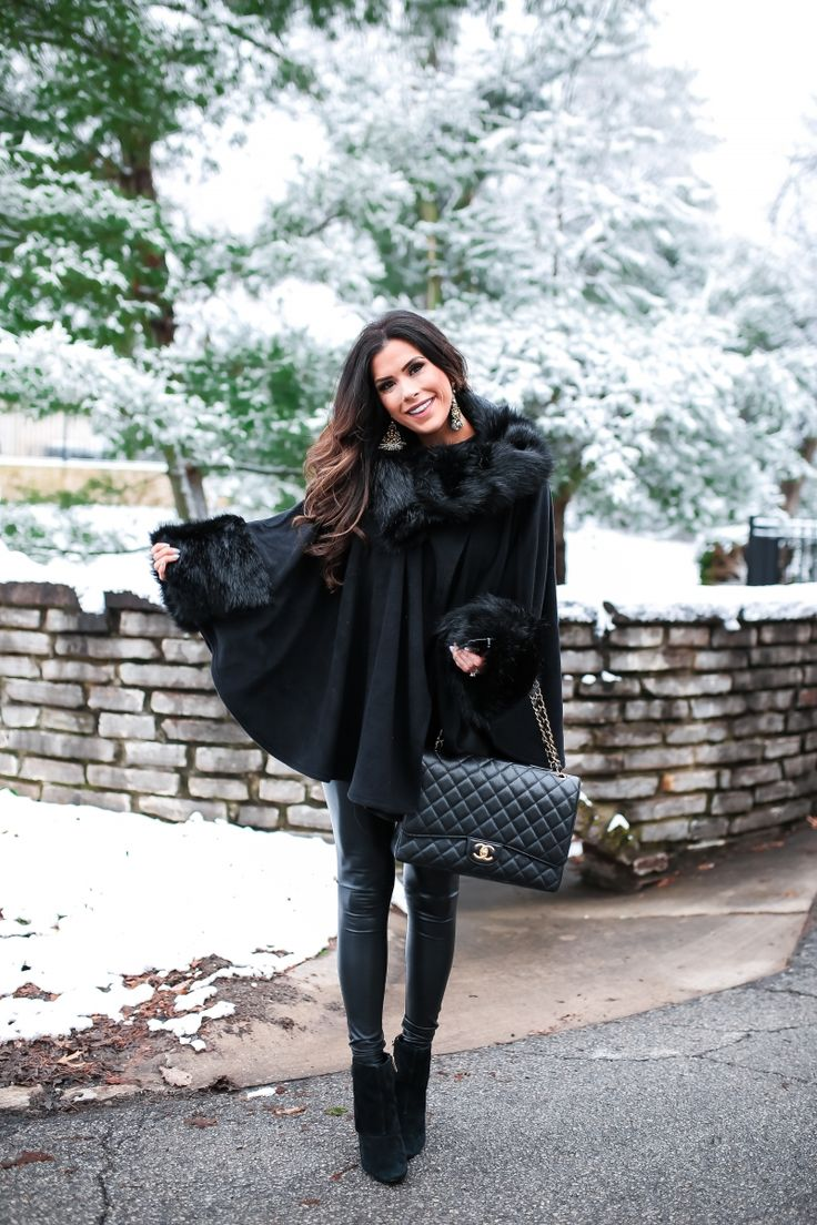 Snowy, Wintry Chic Ensemble – The Sweetest Thing
