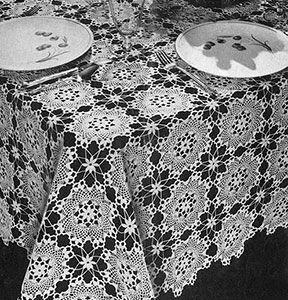 Enchantress Tablecloth Pattern #7297