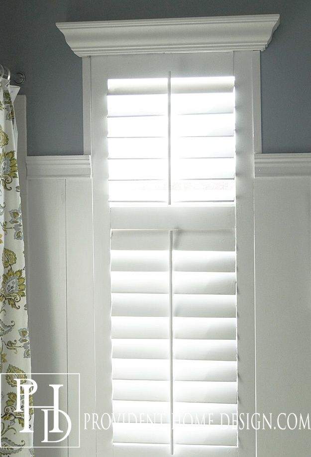 Diy Plantation Shutters In 2019 Diy Plantation Shutters