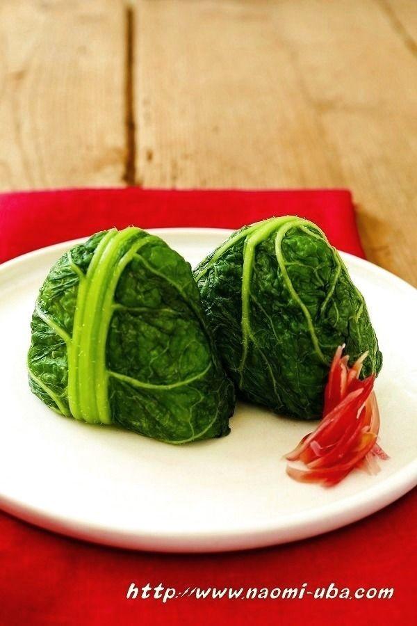 Onigiri いつもの食卓を少し特別に レシピサイトNadia / かつお菜 おにぎり