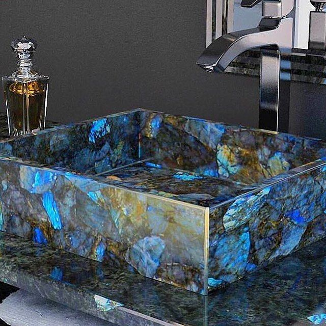 Labradorite sink                                                                                                                                                                                  More