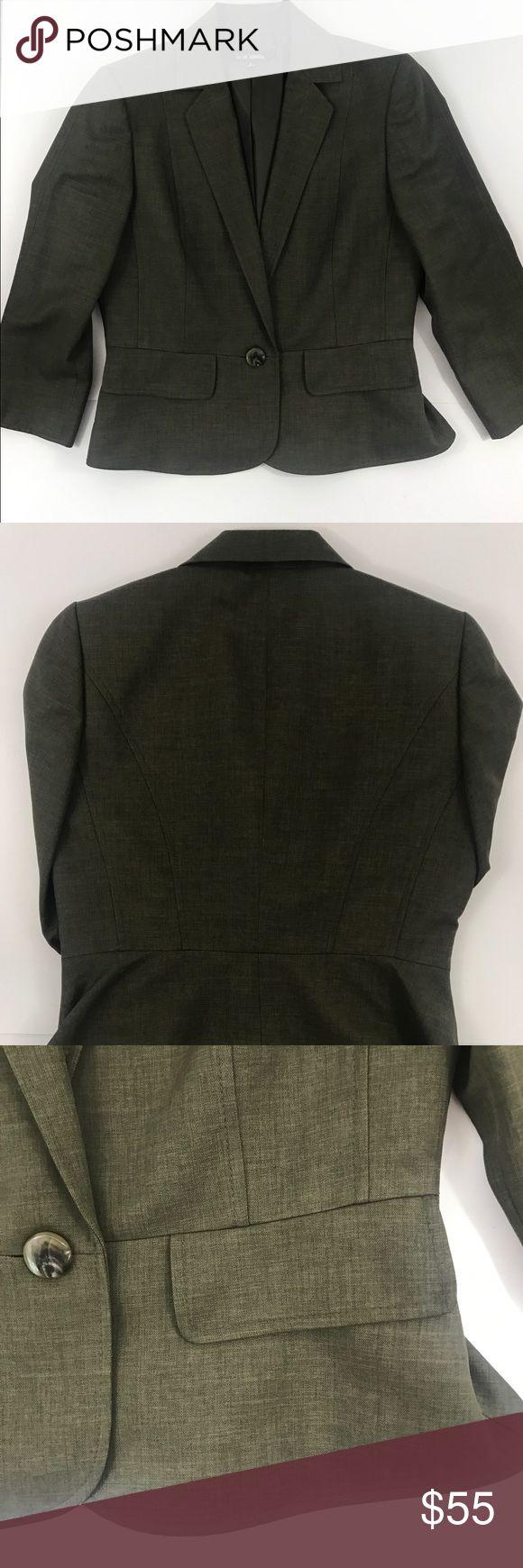 Le Suit Separates Jacket Suit Green Dark Career 6 Le Suit Separates Womens Jacket Suit Green Dark Career size 6 Le Suit Jackets & Coats Blazers