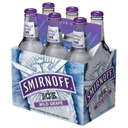 Smirnoff Ice Wild Grape