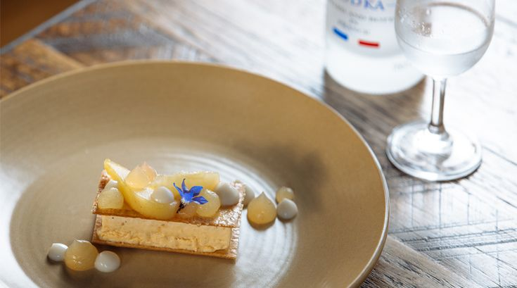 Grey Goose Vodka | Saint Crispin Dessert | Eat My Words | Photo Tim Grey