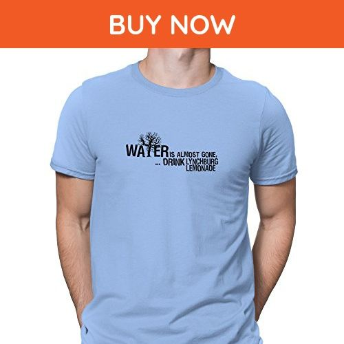 Teeburon Water is almost gone drink Lynchburg Lemonade T-Shirt - Food and drink shirts (*Amazon Partner-Link)