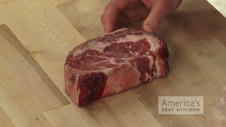 America S Test Kitchen Dry Aged Steak