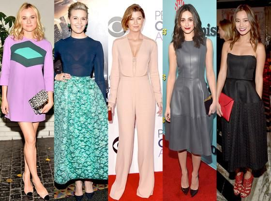 Best looks of the week: Ellen Pompeo's peachy jumpsuit, Diane Kruger's mod mini & more! http://eonli.ne/1BJLWhc