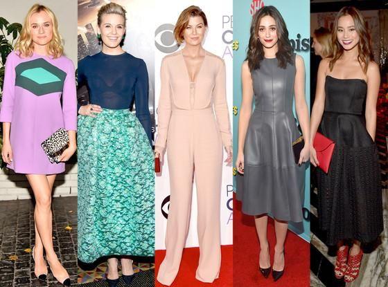 Best looks of the week: Ellen Pompeo's peachy jumpsuit, Diane Kruger's mod mini & more! http://eonli.ne/1BJLWhc