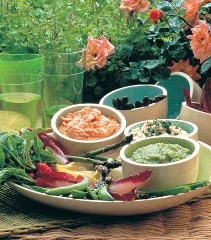 Recetas de dips. Ofrece estos deliciosos dips para compartir con los amigos.