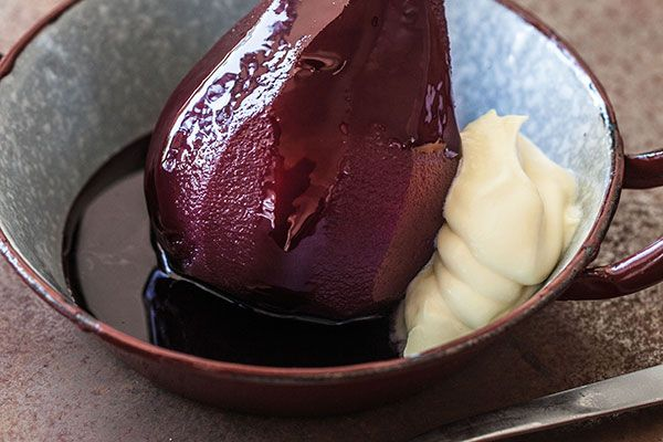 Mulled wine pears – Recipes – Bite