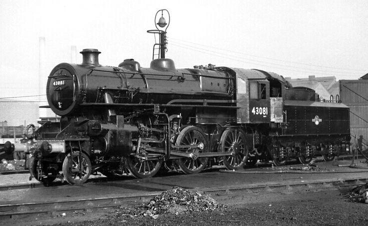 BR (LMS)  Ivatt class 4  2-6-0
