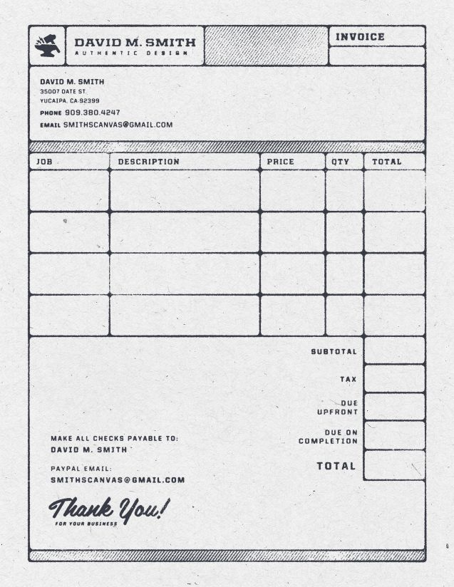 86 best Invoice Design images on Pinterest Graphics, Creativity - graphic design invoice sample